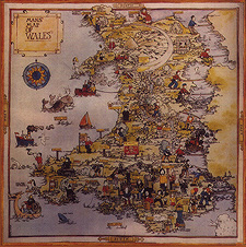 Man's wonderful Map of Wales